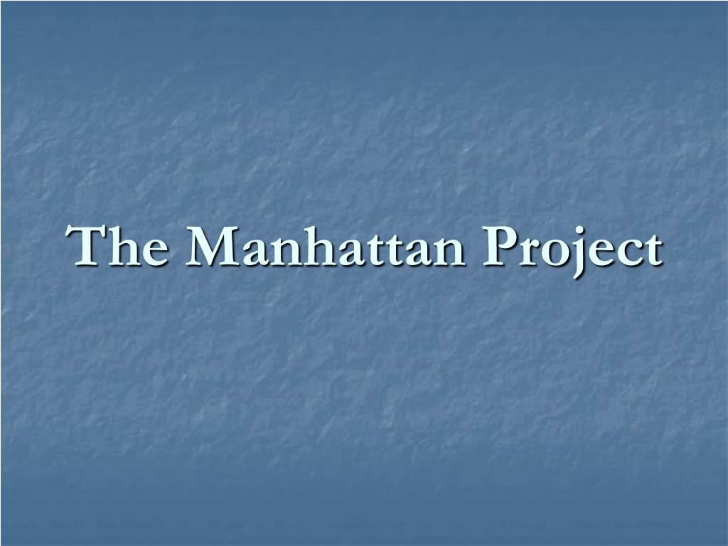 the manhattan project l.
