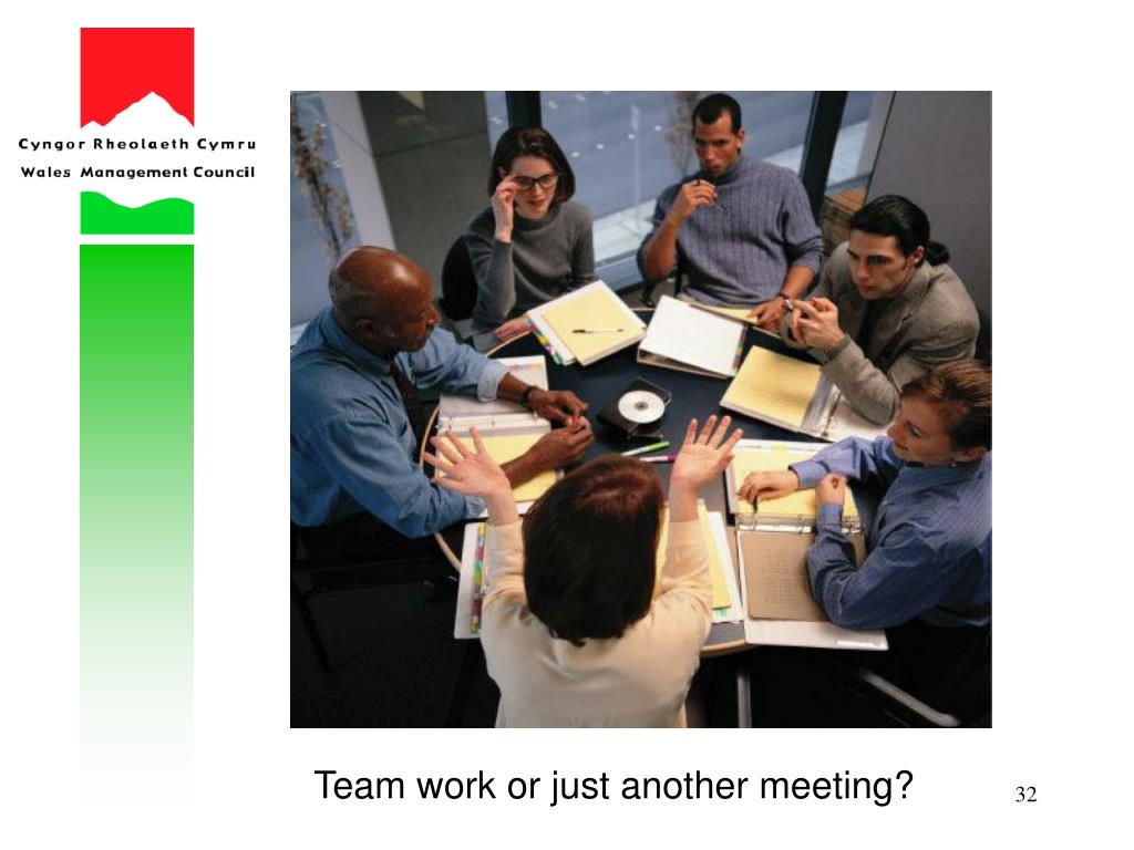 Team work or just another meeting?