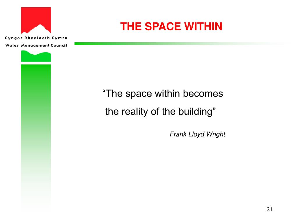 THE SPACE WITHIN