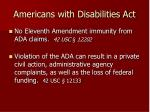 americans with disabilities act32