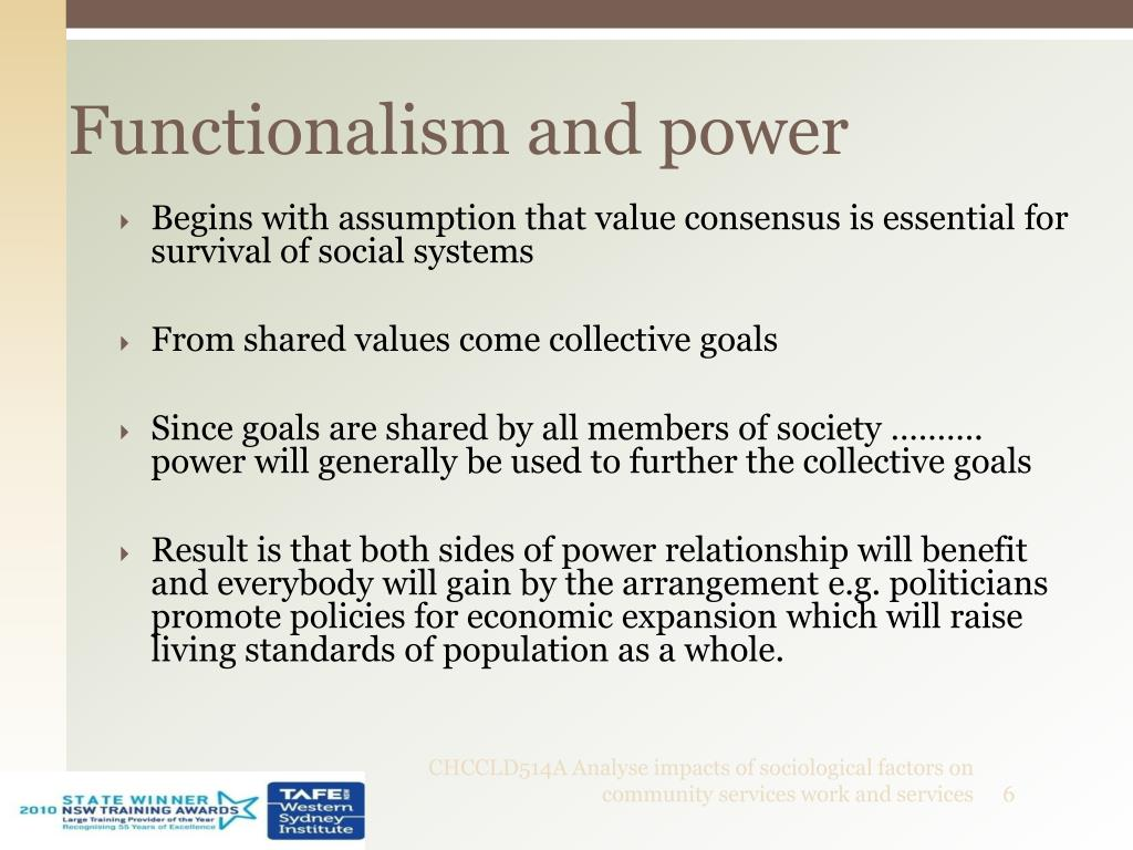 Functionalism and power