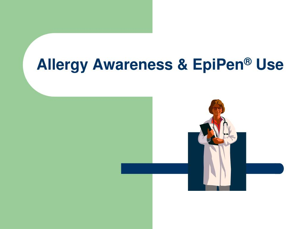 allergy awareness epipen use l.