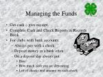 managing the funds1