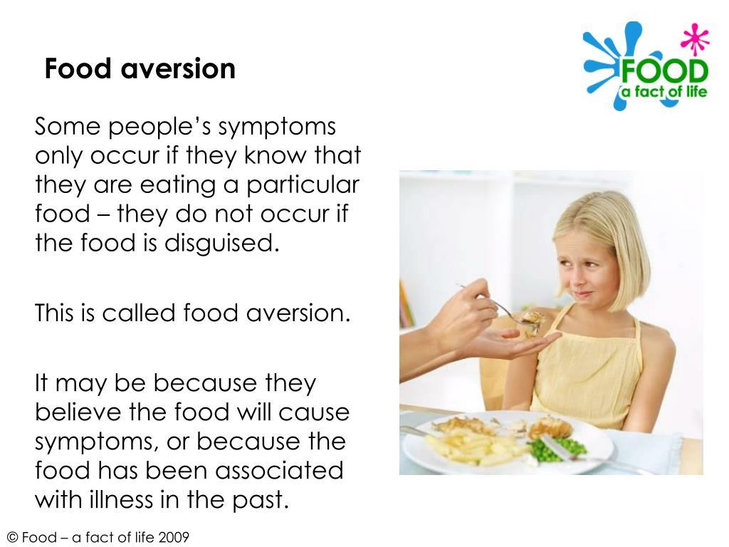 Food aversion