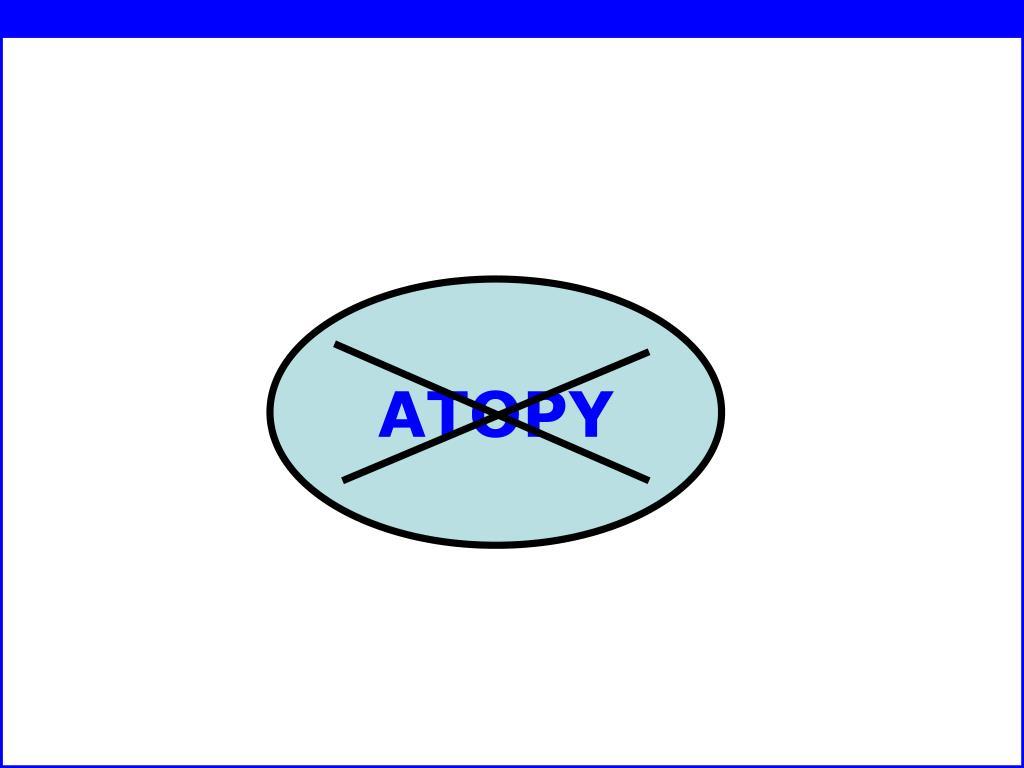 ATOPY