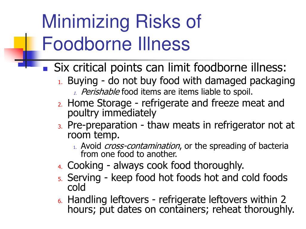 Minimizing Risks of