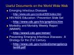 useful documents on the world wide web