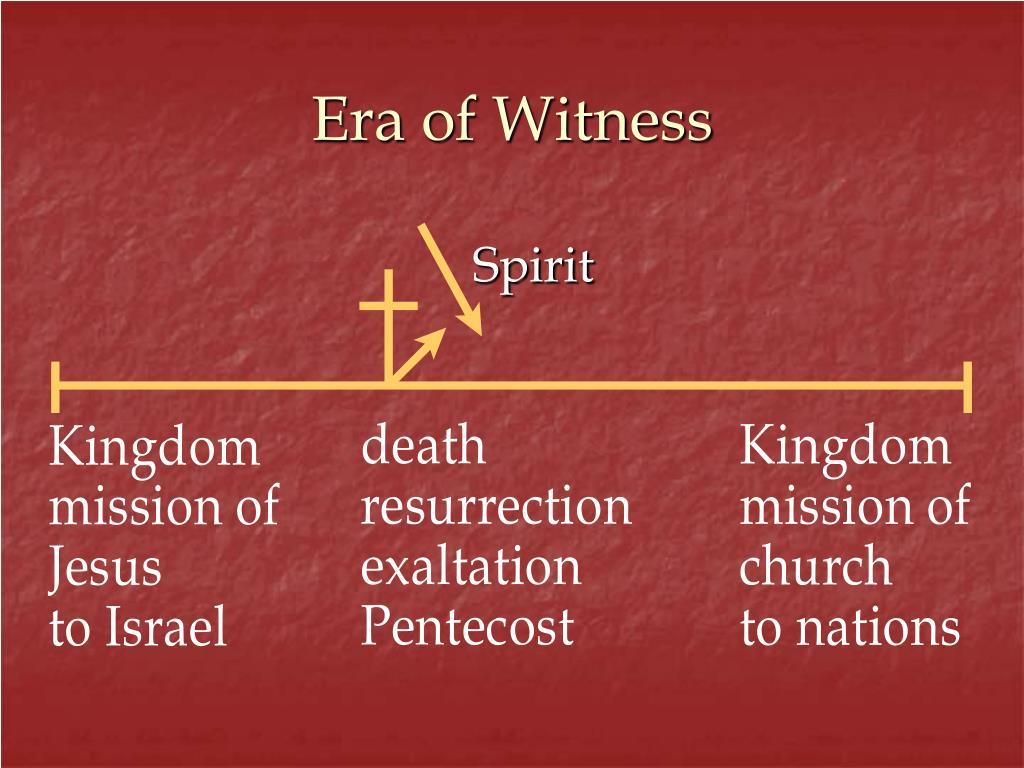 Era of Witness