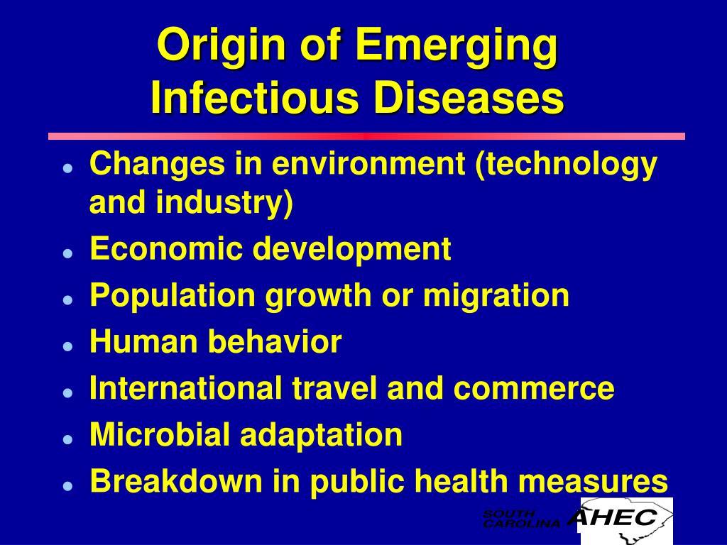 Origin of Emerging
