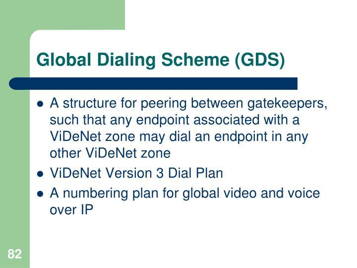 Global Dialing Scheme (GDS)