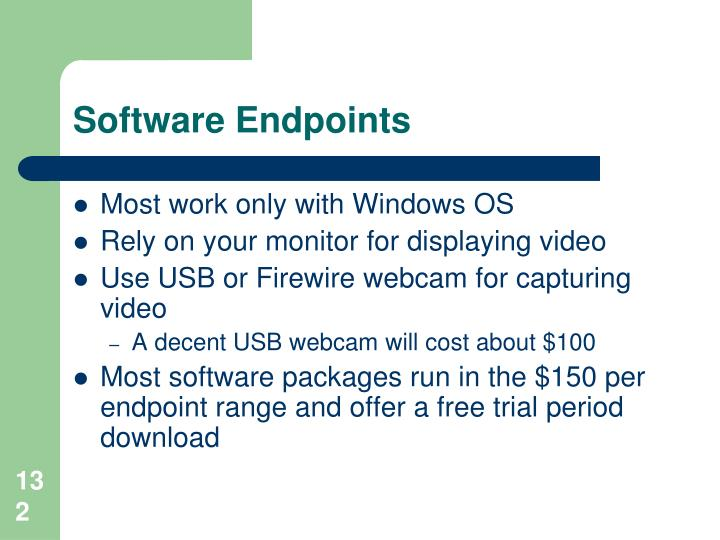 Software Endpoints