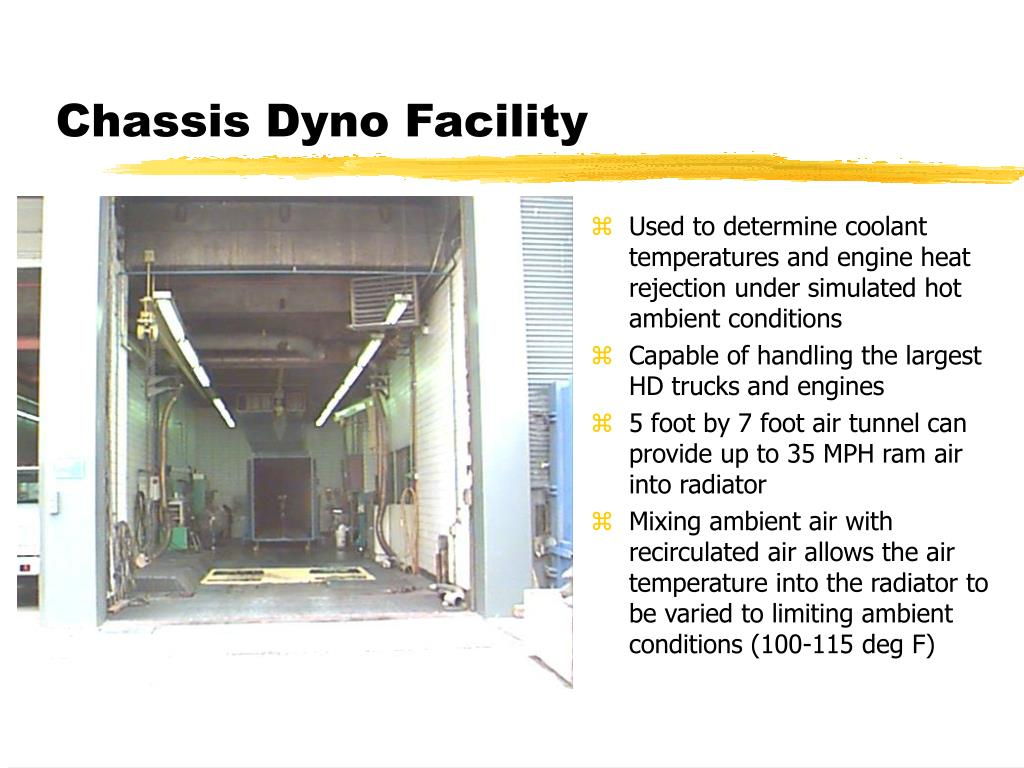 Chassis Dyno Facility