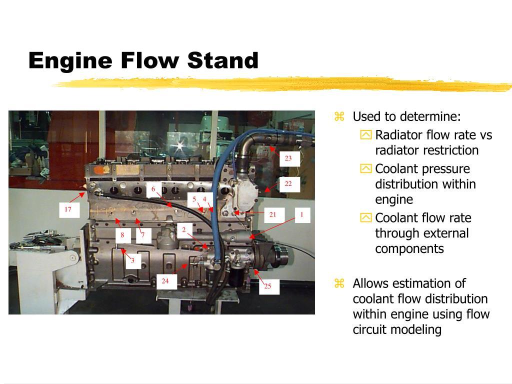 Engine Flow Stand