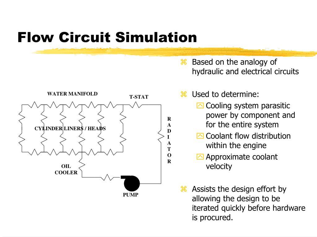 Flow Circuit Simulation