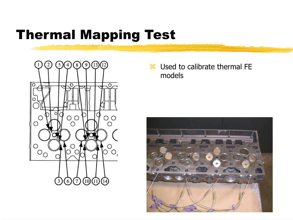 Thermal Mapping Test
