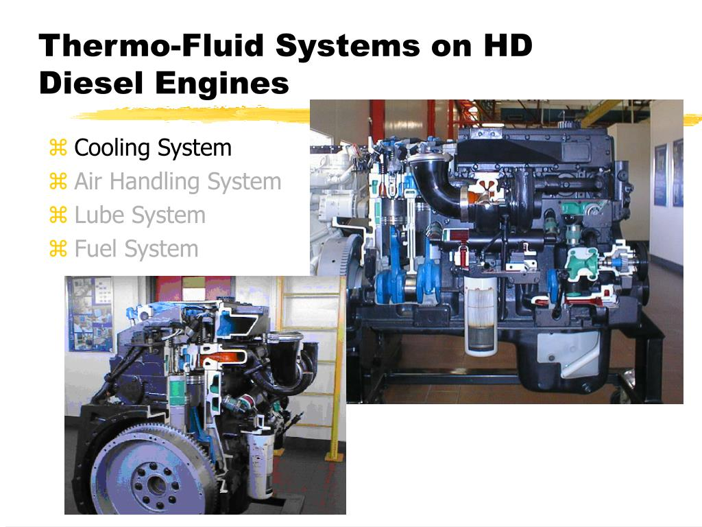 Thermo-Fluid Systems on HD Diesel Engines
