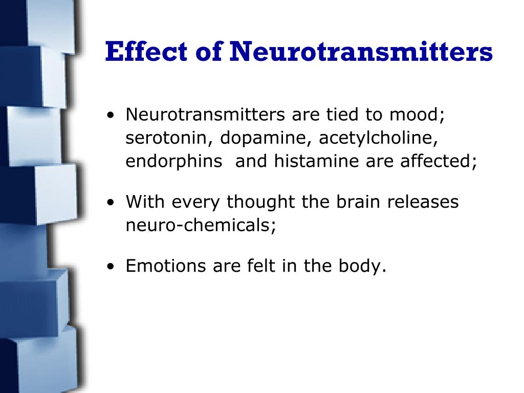 Effect of Neurotransmitters