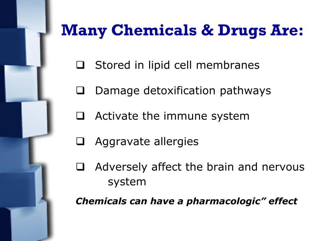 Many Chemicals & Drugs Are: