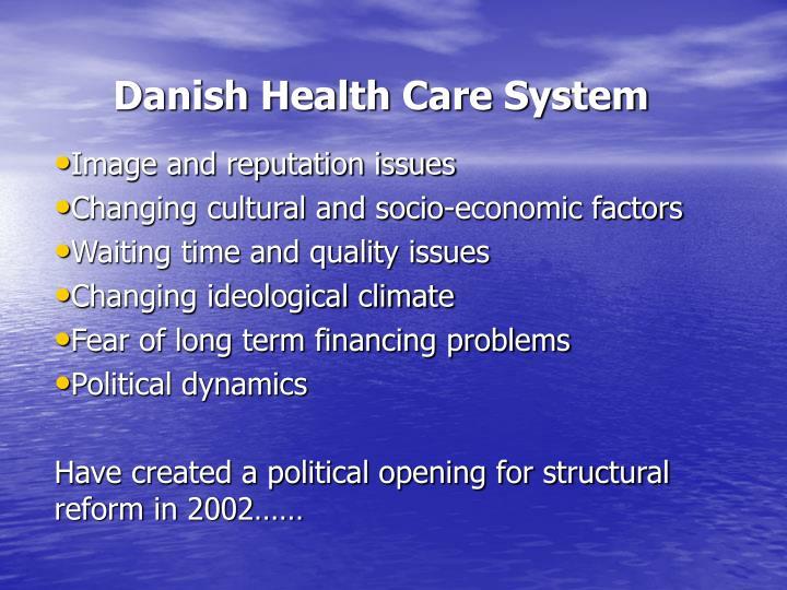 Danish health care system3