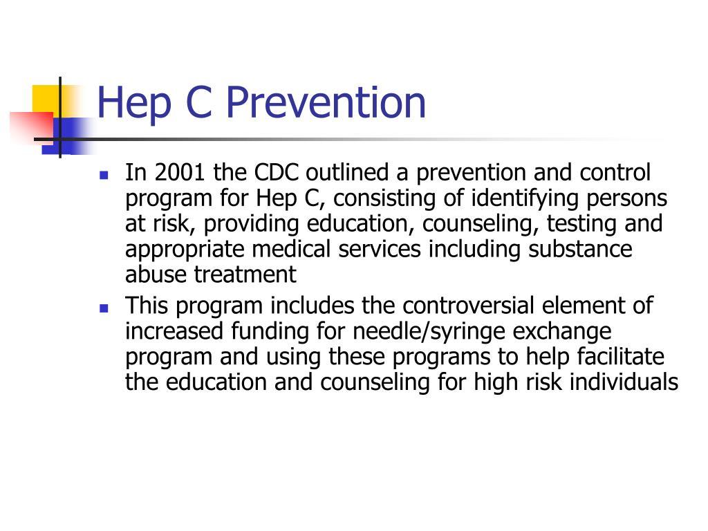 Hep C Prevention