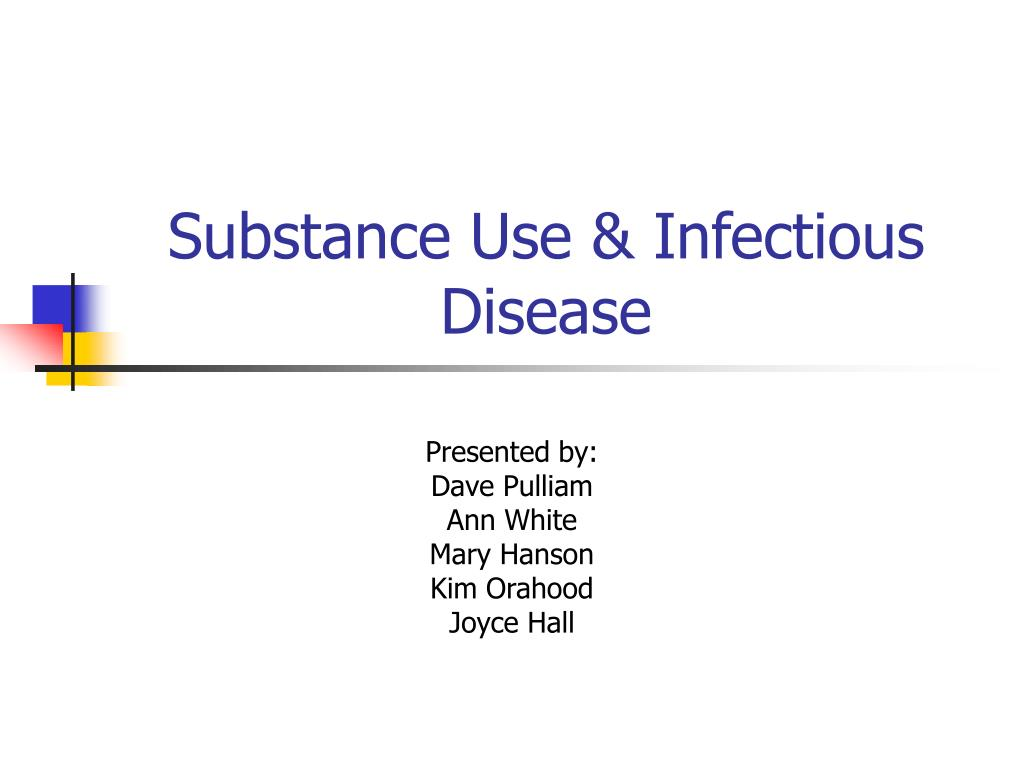 substance use infectious disease l.