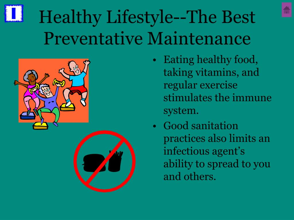 Healthy Lifestyle--The Best Preventative Maintenance