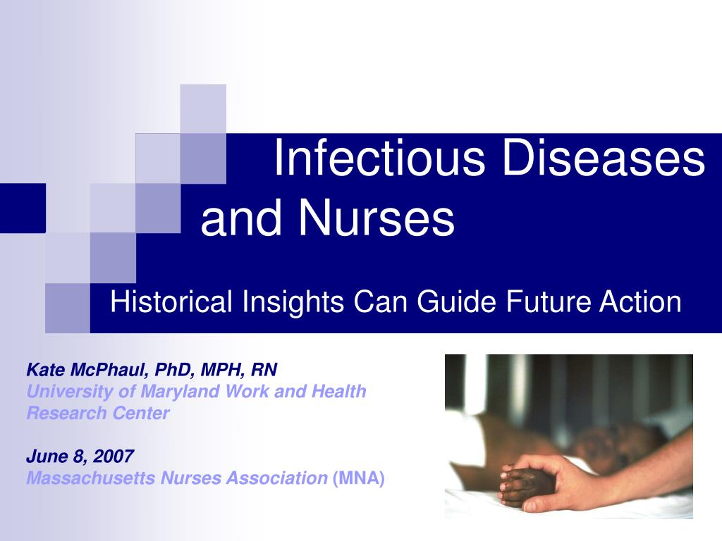 infectious diseases and nurses l.