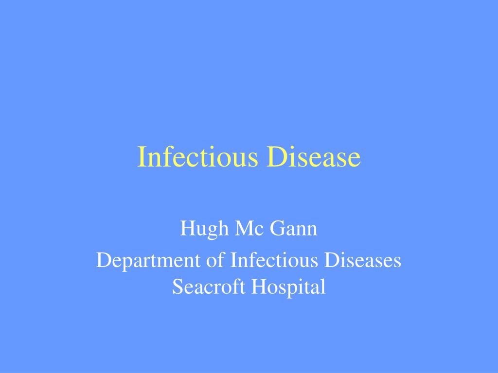 infectious disease l.