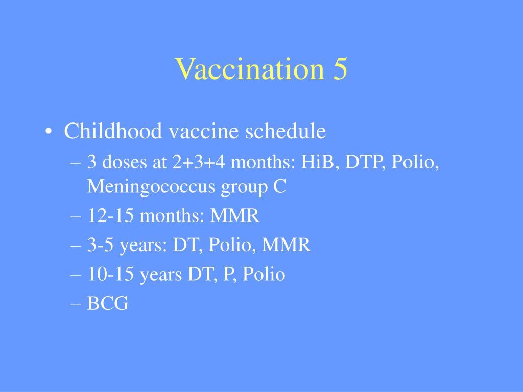 Vaccination 5