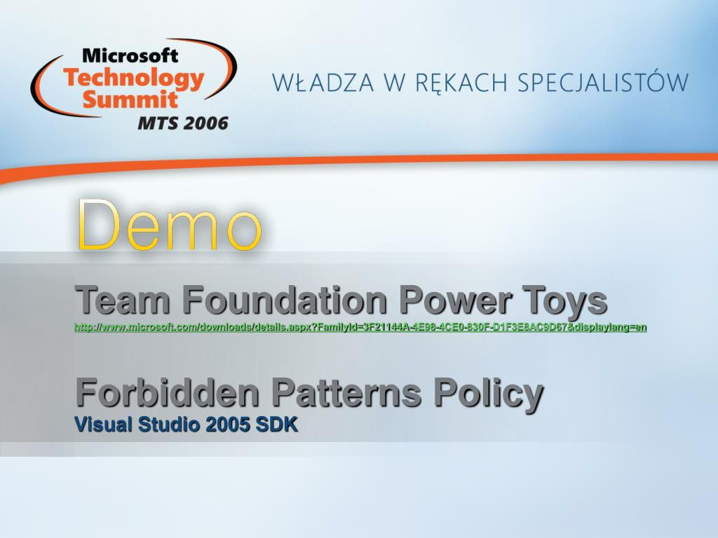 Team Foundation Power Toys