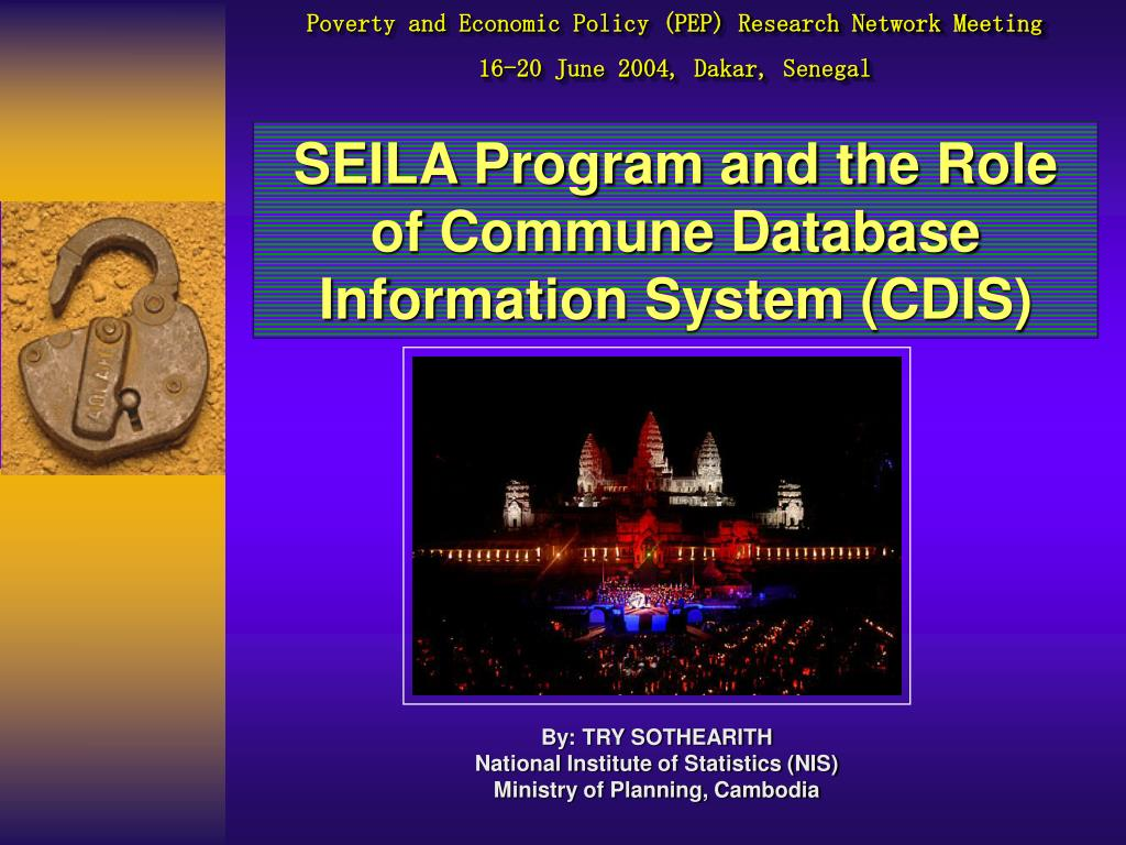 Poverty and Economic Policy (PEP) Research Network Meeting