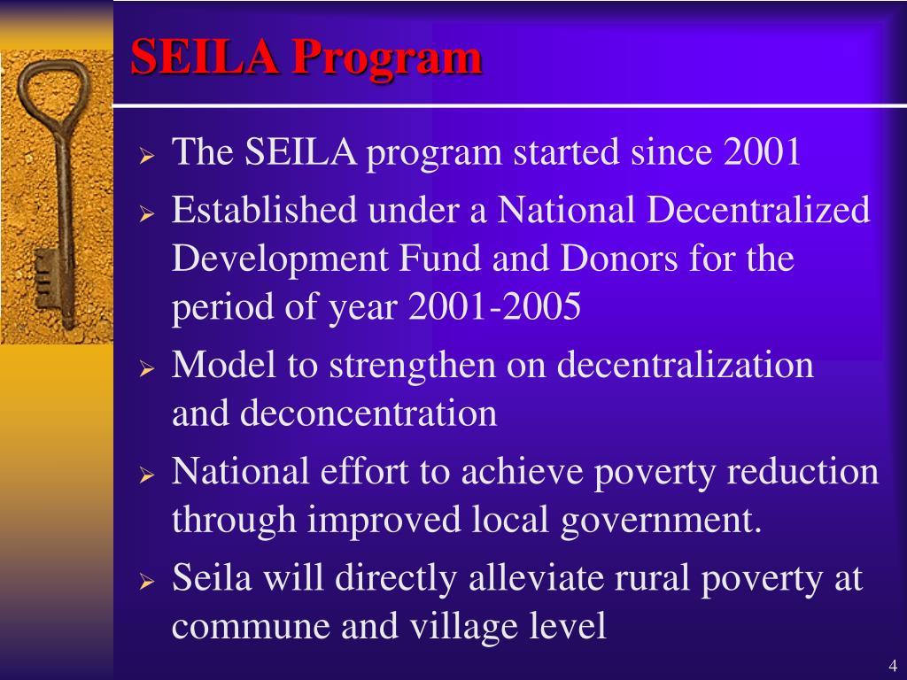 SEILA Program