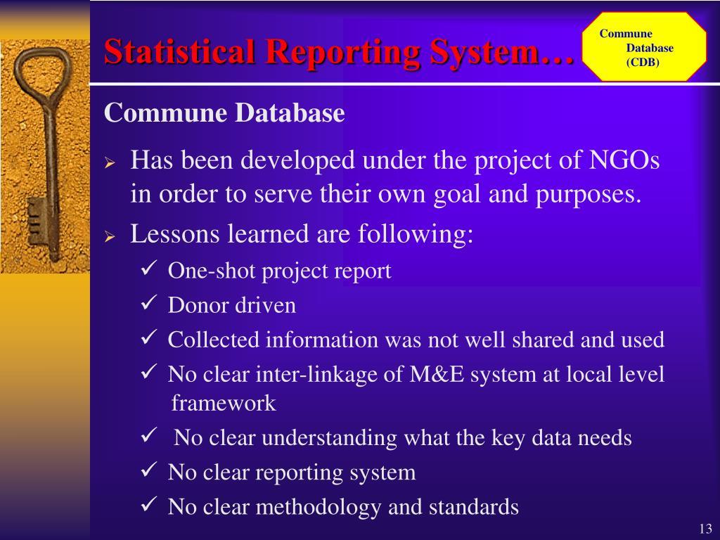 Commune Database (CDB)