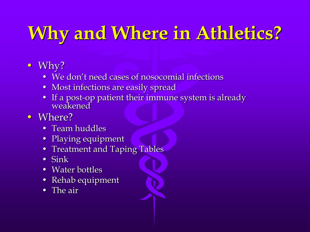 Why and Where in Athletics?