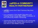 calpen at community health partnership