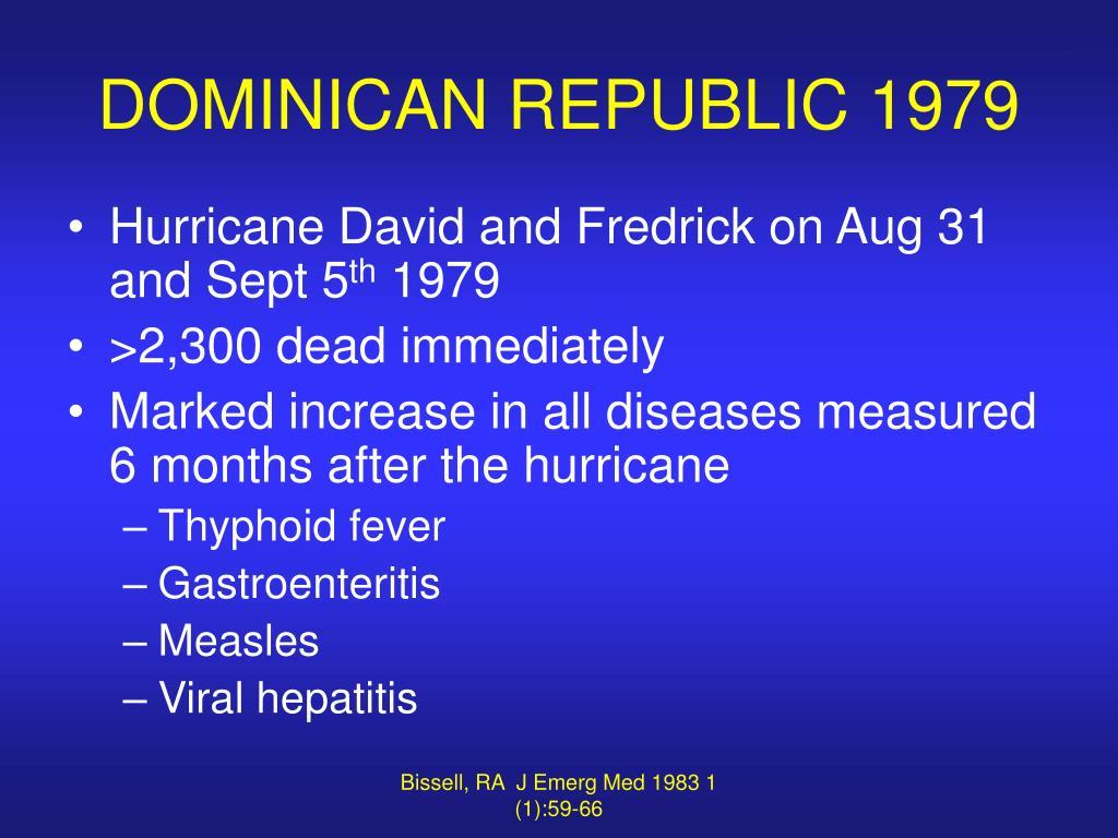 DOMINICAN REPUBLIC 1979