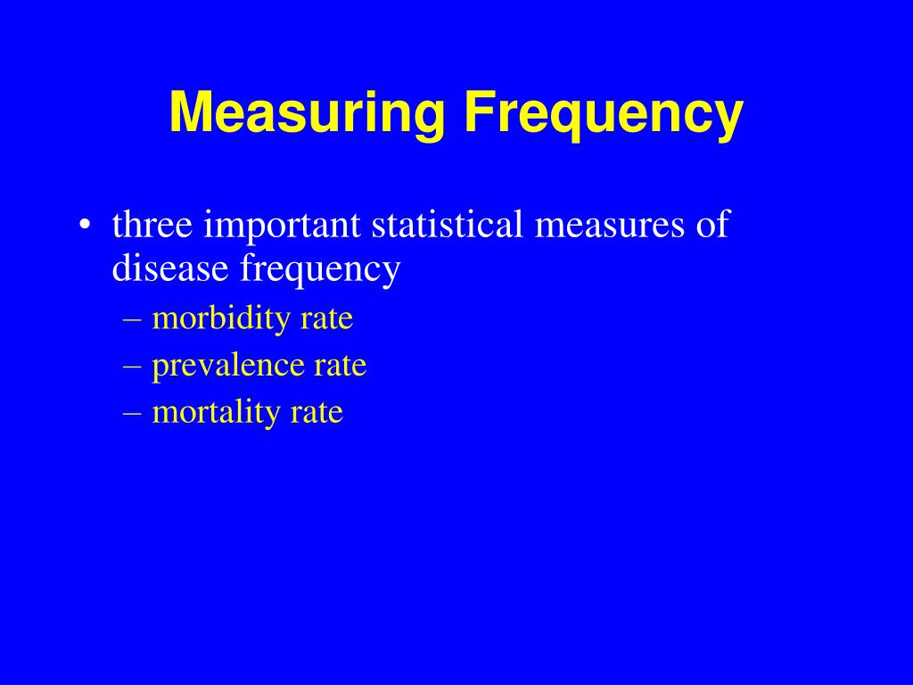Measuring Frequency