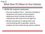 what does ics mean to your schools12