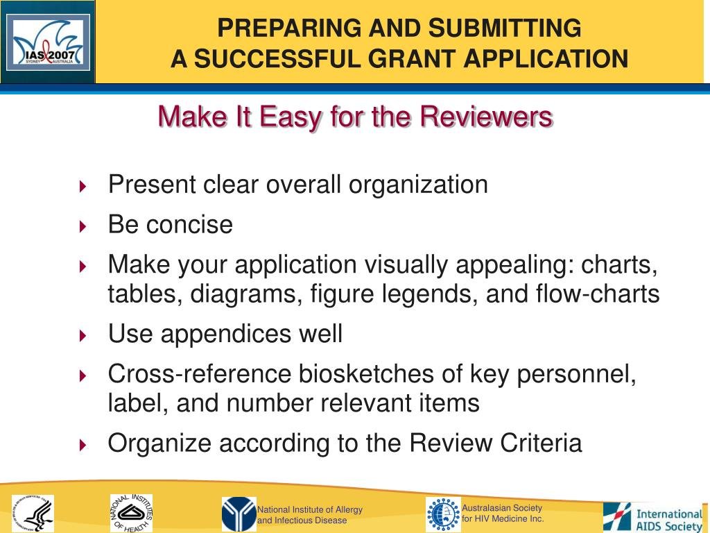 Make It Easy for the Reviewers