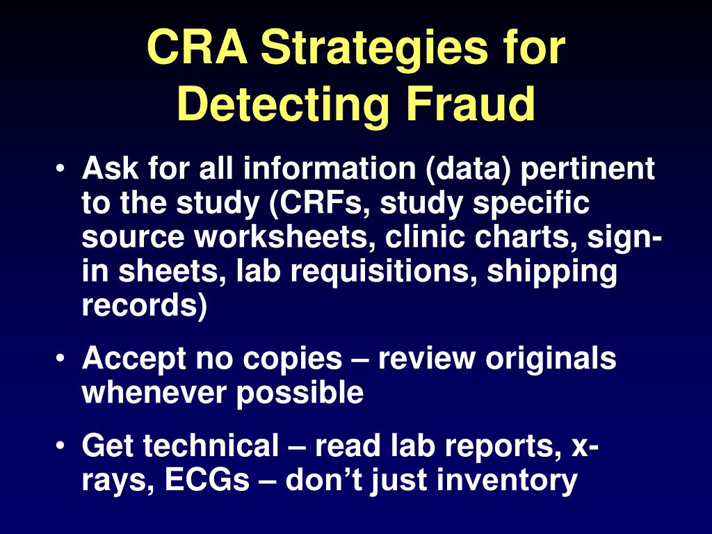 CRA Strategies for