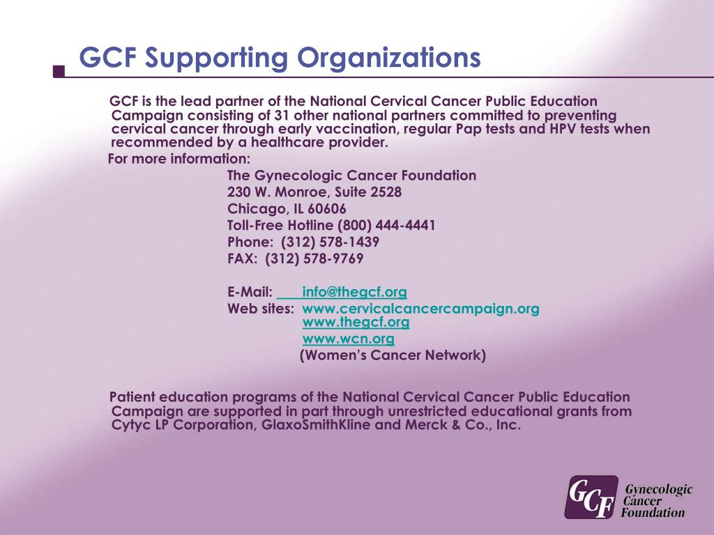 GCF Supporting Organizations