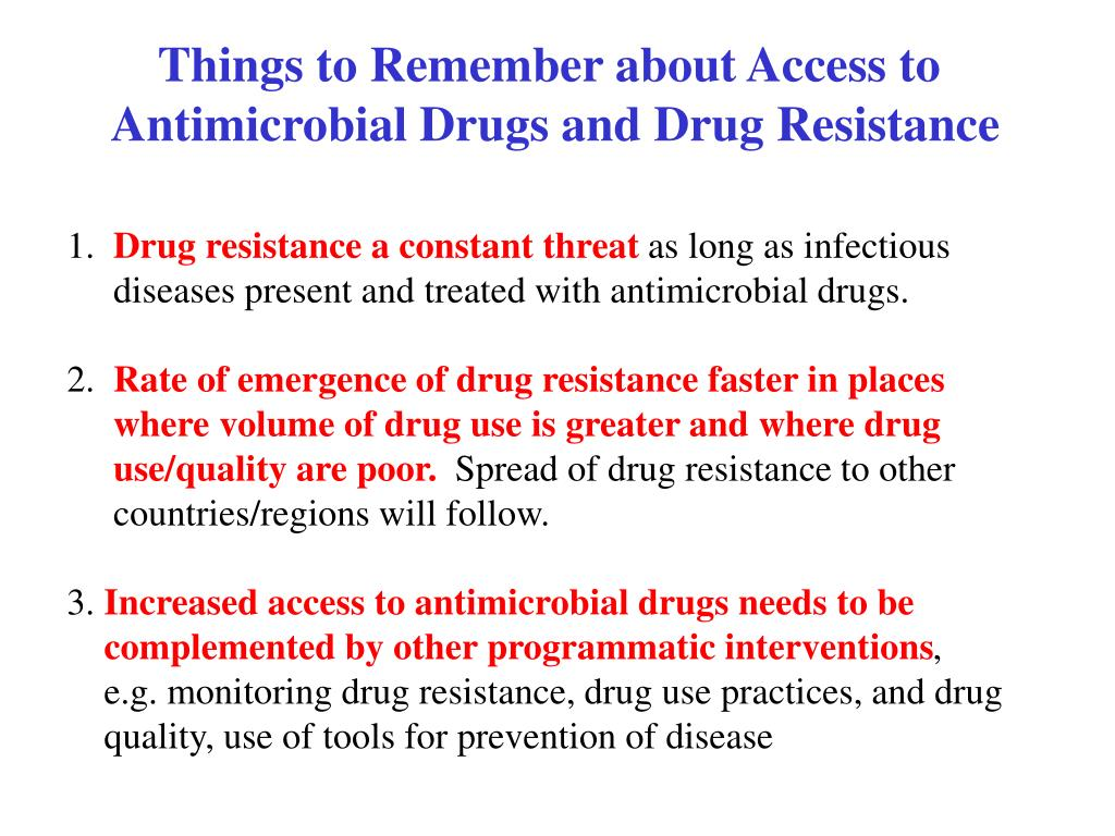 Things to Remember about Access to