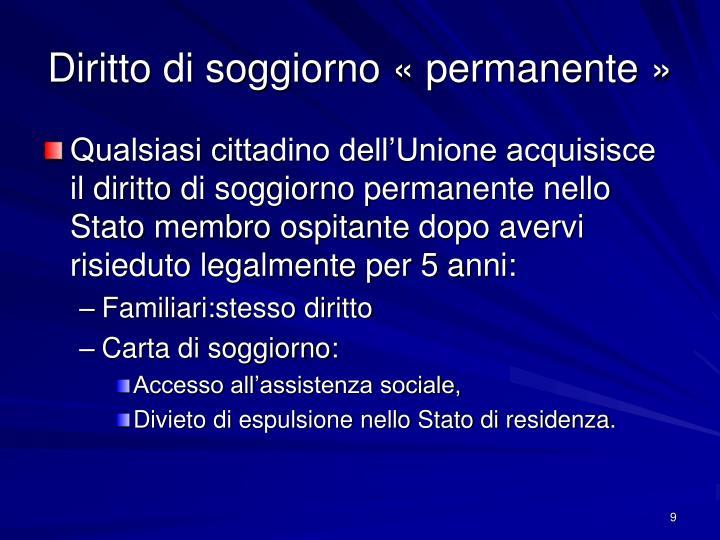 Stunning Attestato Di Soggiorno Permanente Per Cittadini Comunitari ...