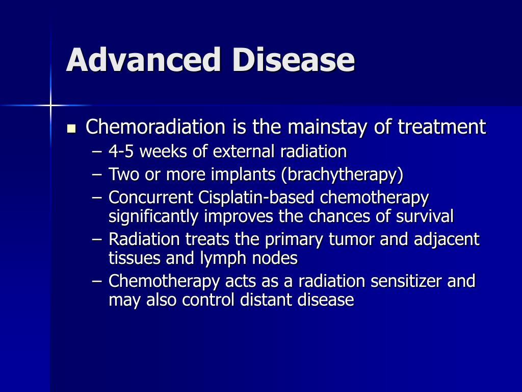 Advanced Disease