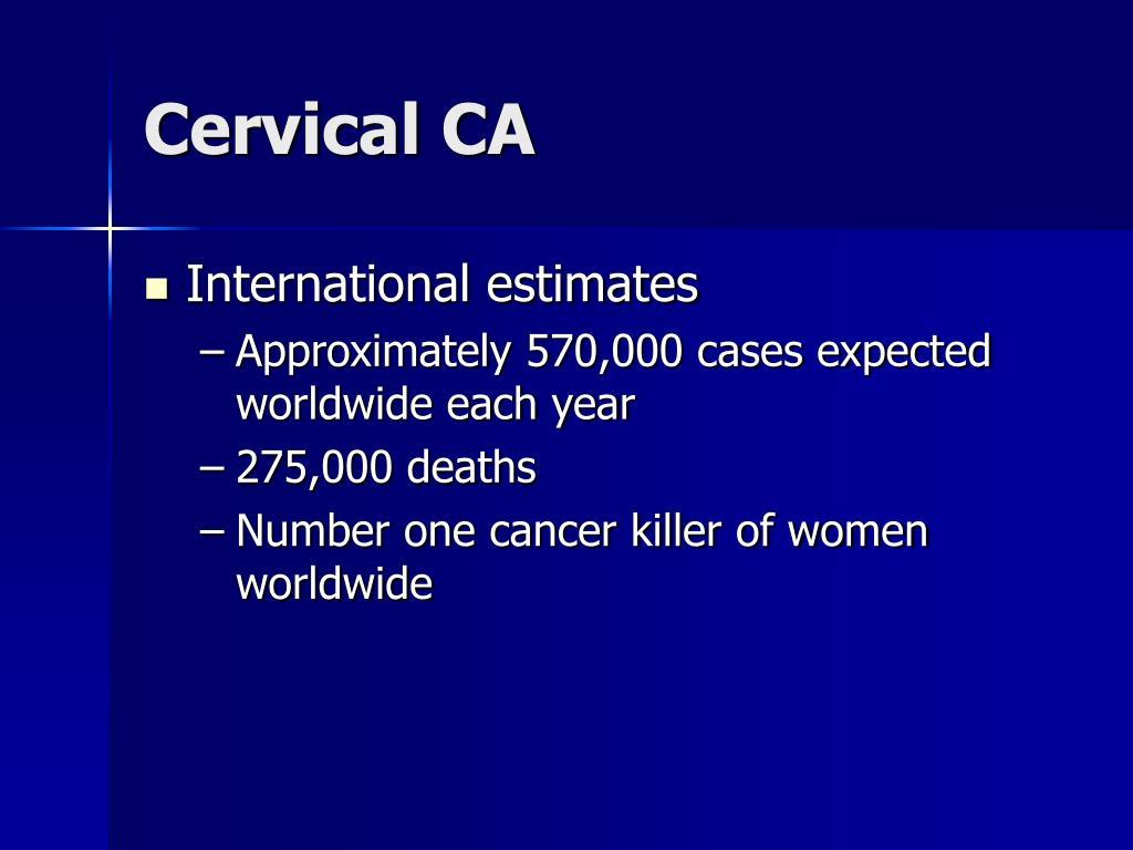 Cervical CA