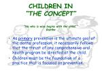 children in the concept he who is wise begins with the child goethe