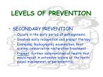 levels of prevention7