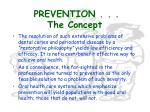 prevention the concept4