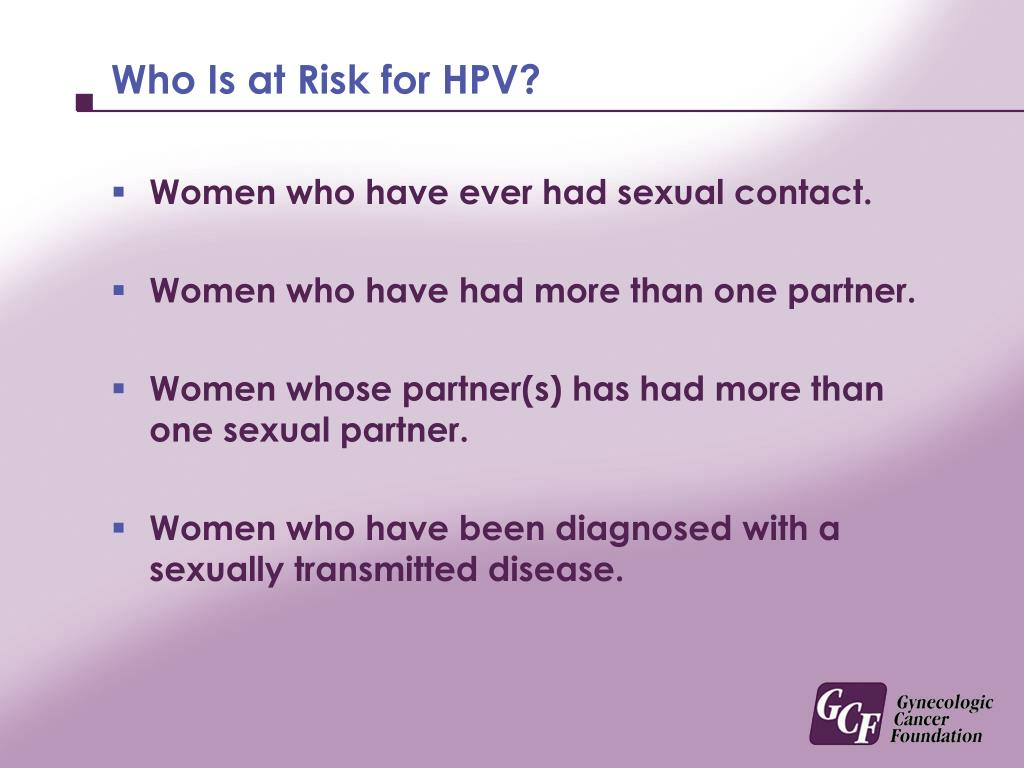 Who Is at Risk for HPV?