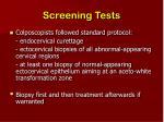 screening tests13